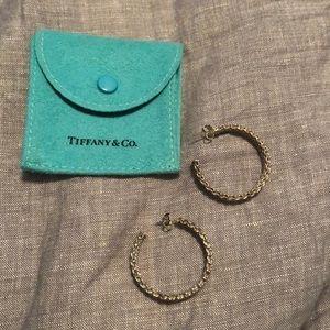 Tiffany & Co. Jewelry - Tiffany and Co. mesh hoops